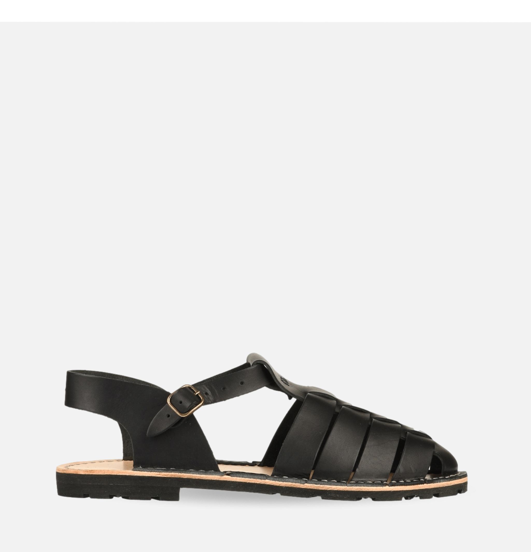 Artisanal Sandal Shoe 09 Black