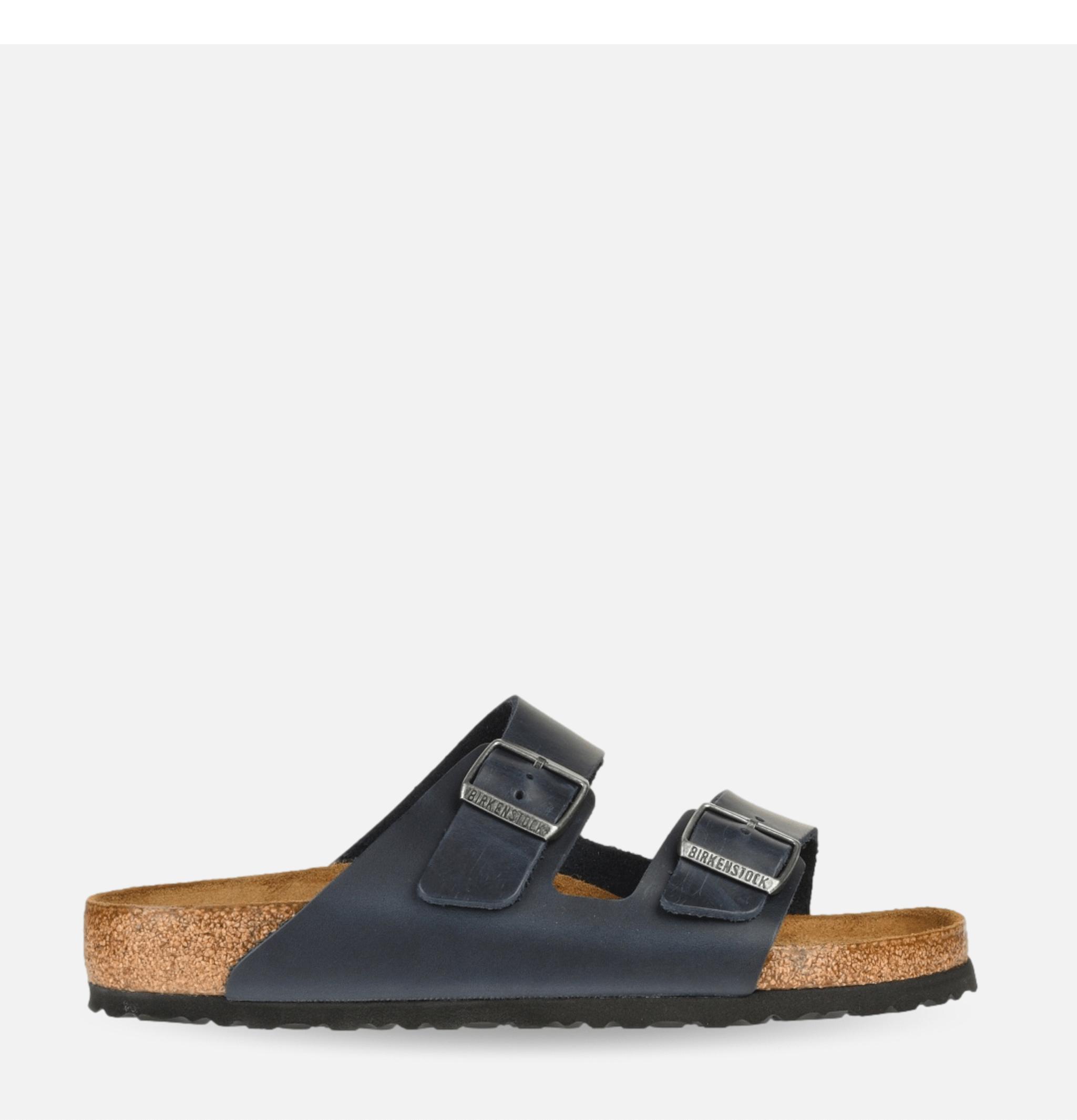 Sandals Arizona Cuir Noir
