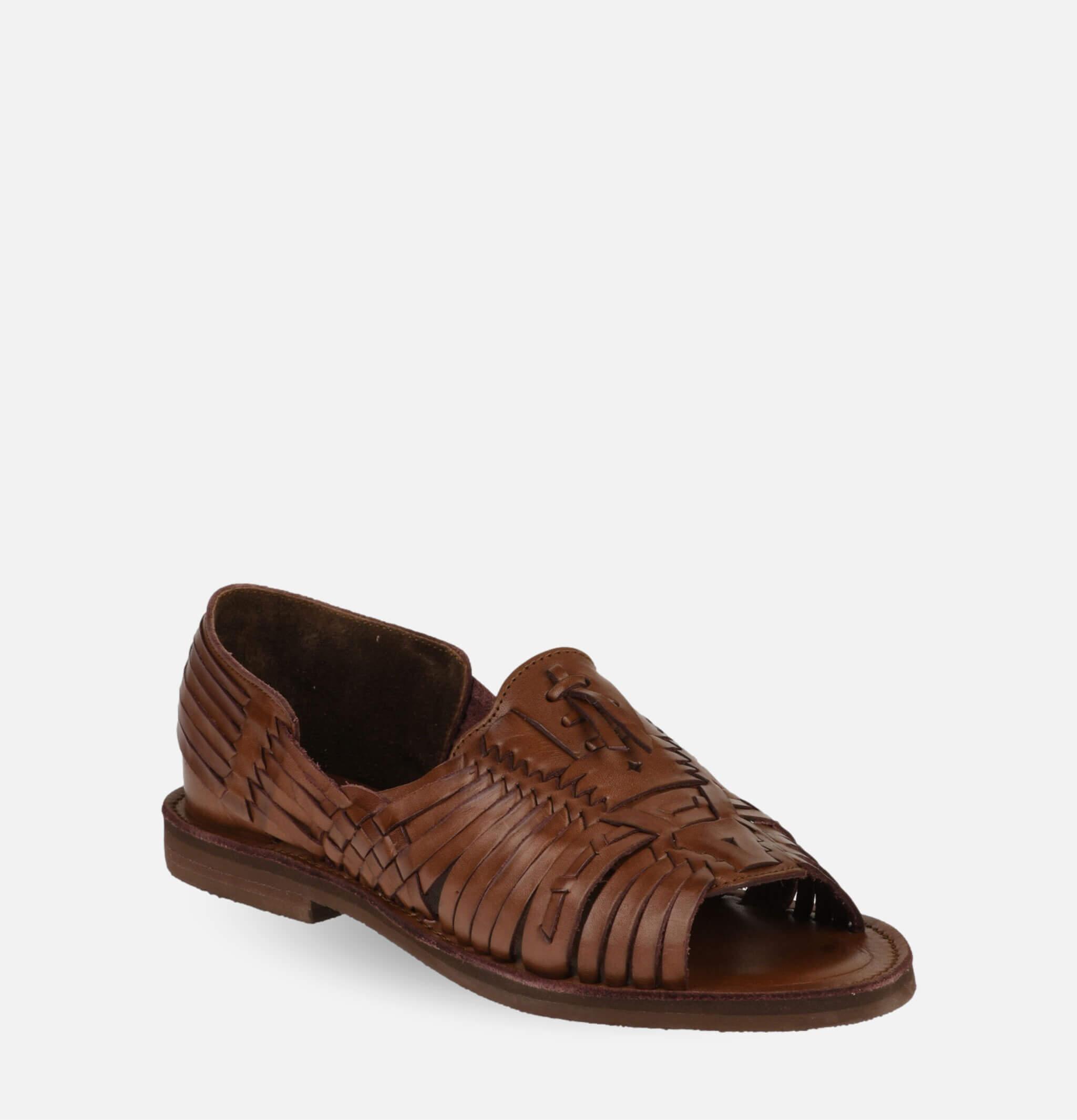 Uxmal Sandals Brown
