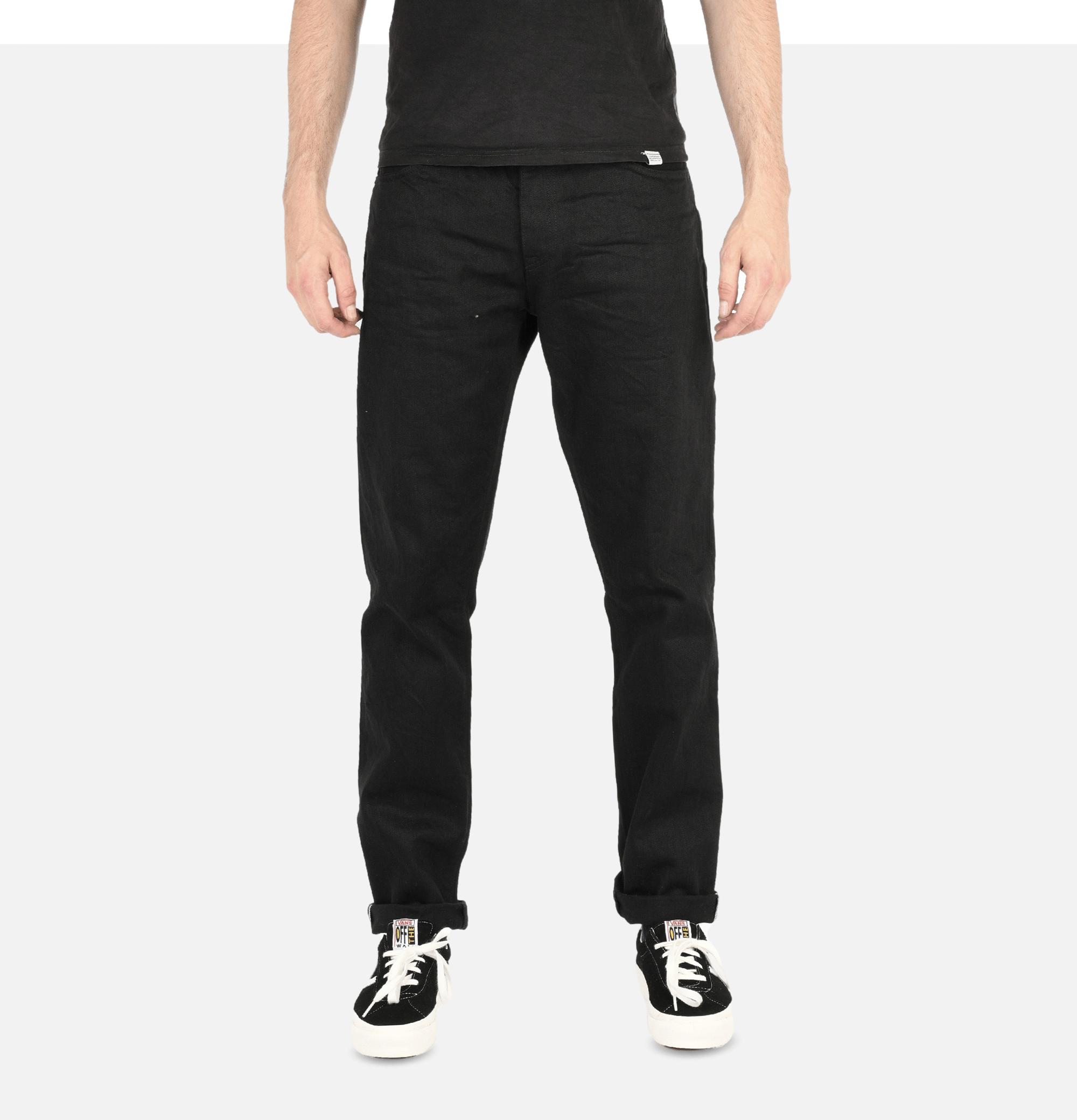 316 Jeans 14 Oz Black Selvedge