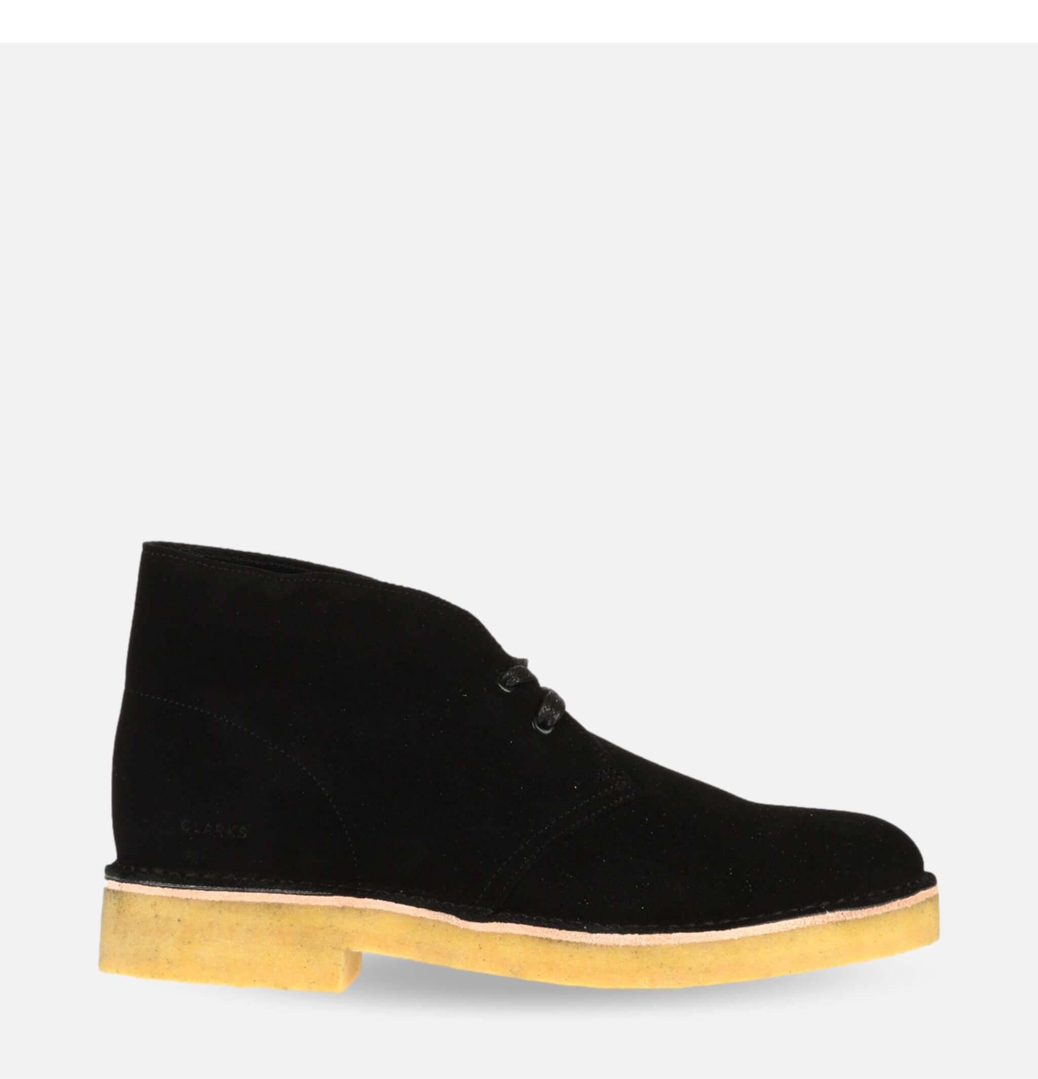 Desert Boot 221Black Suede