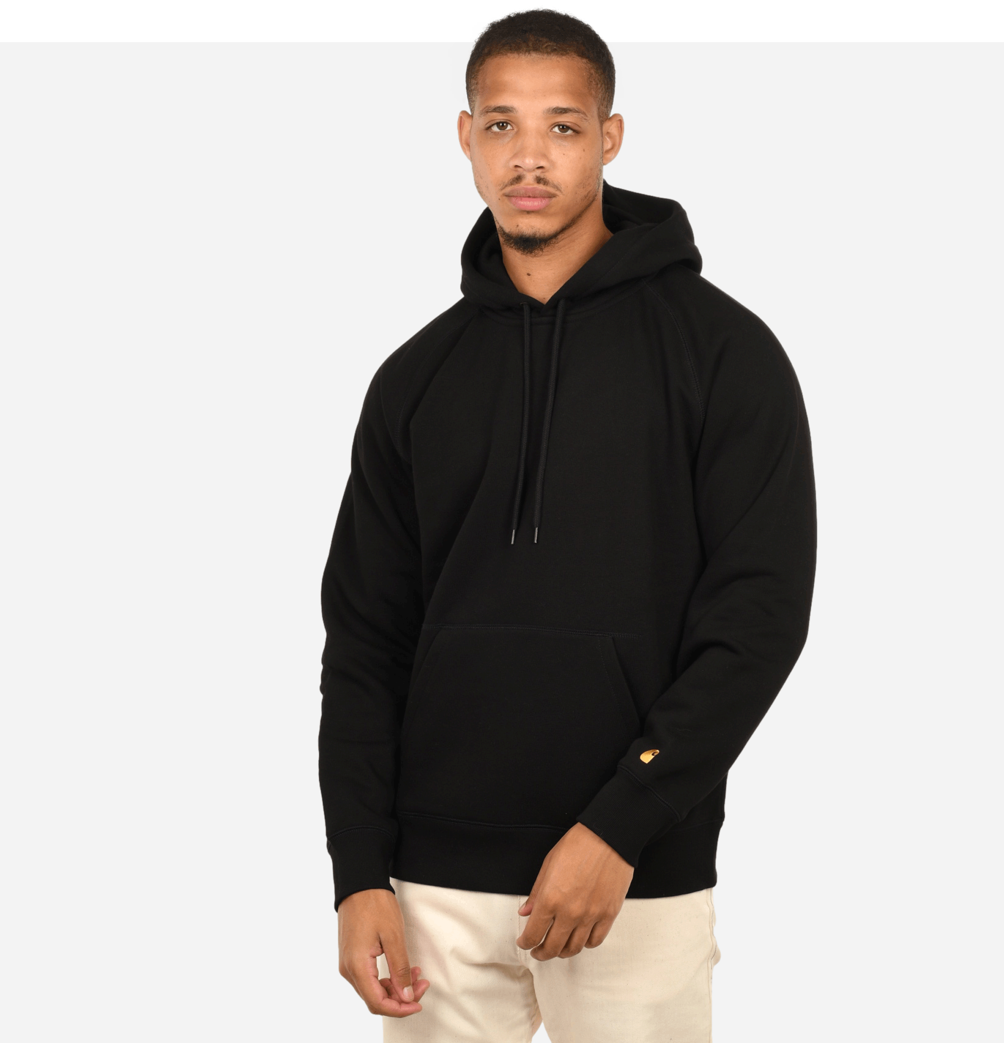 Hooded Chase Sweat Black