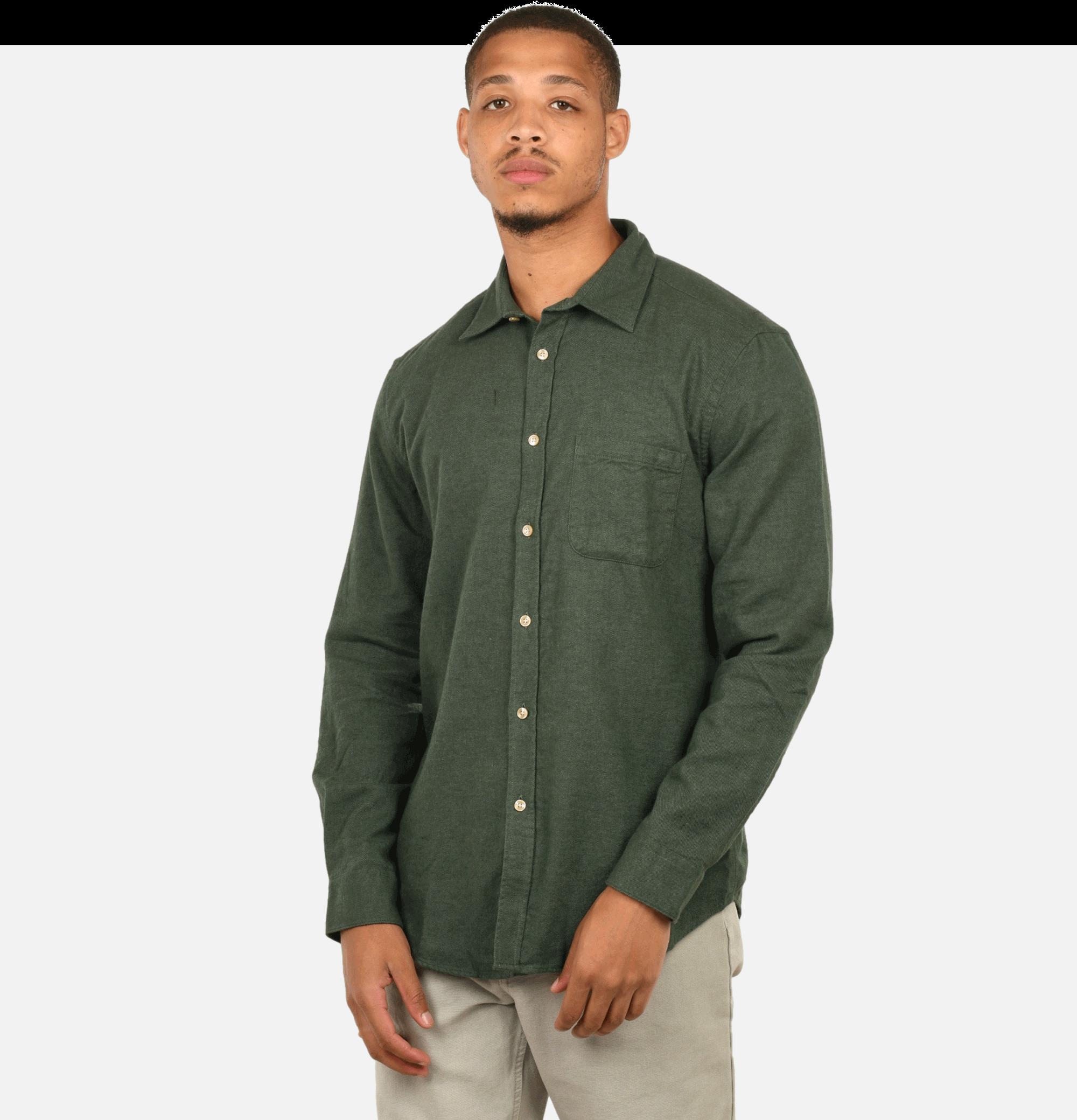 Teca Shirt Moss Green