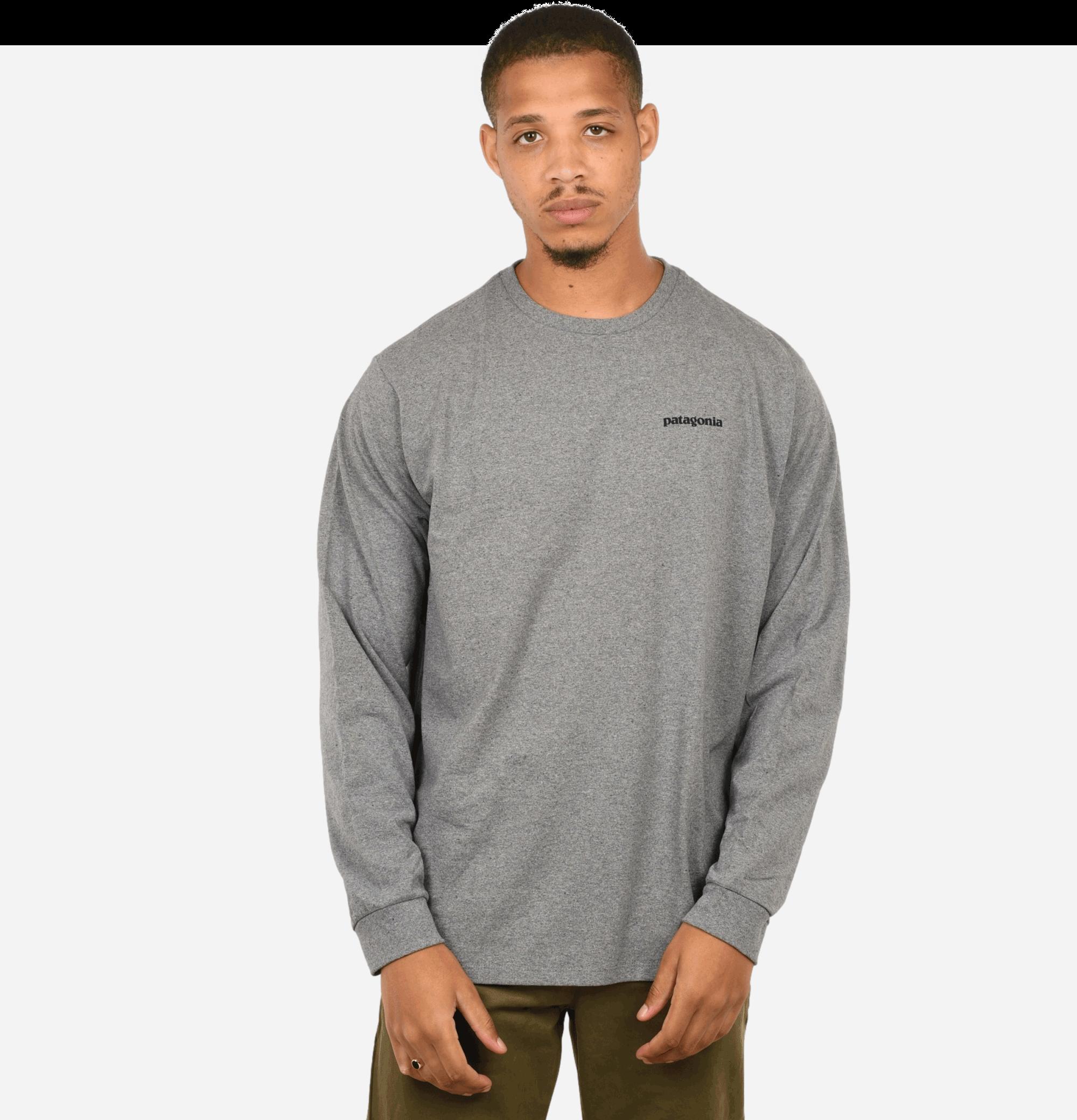 T-shirt P6 Logo ML Grey
