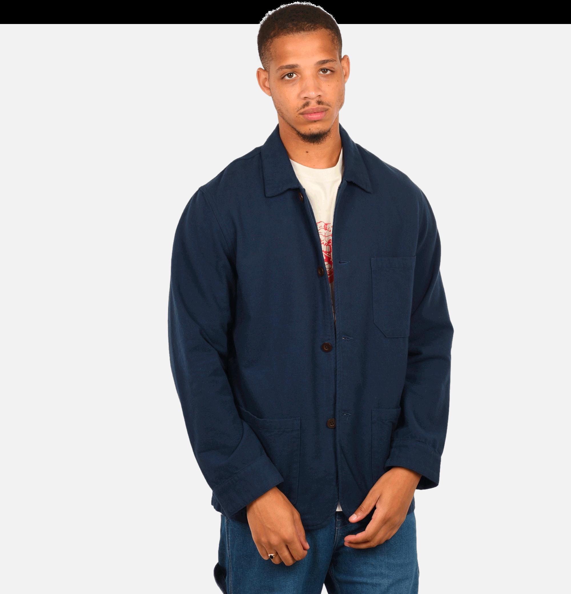 Labura Jacket Flannel Blue