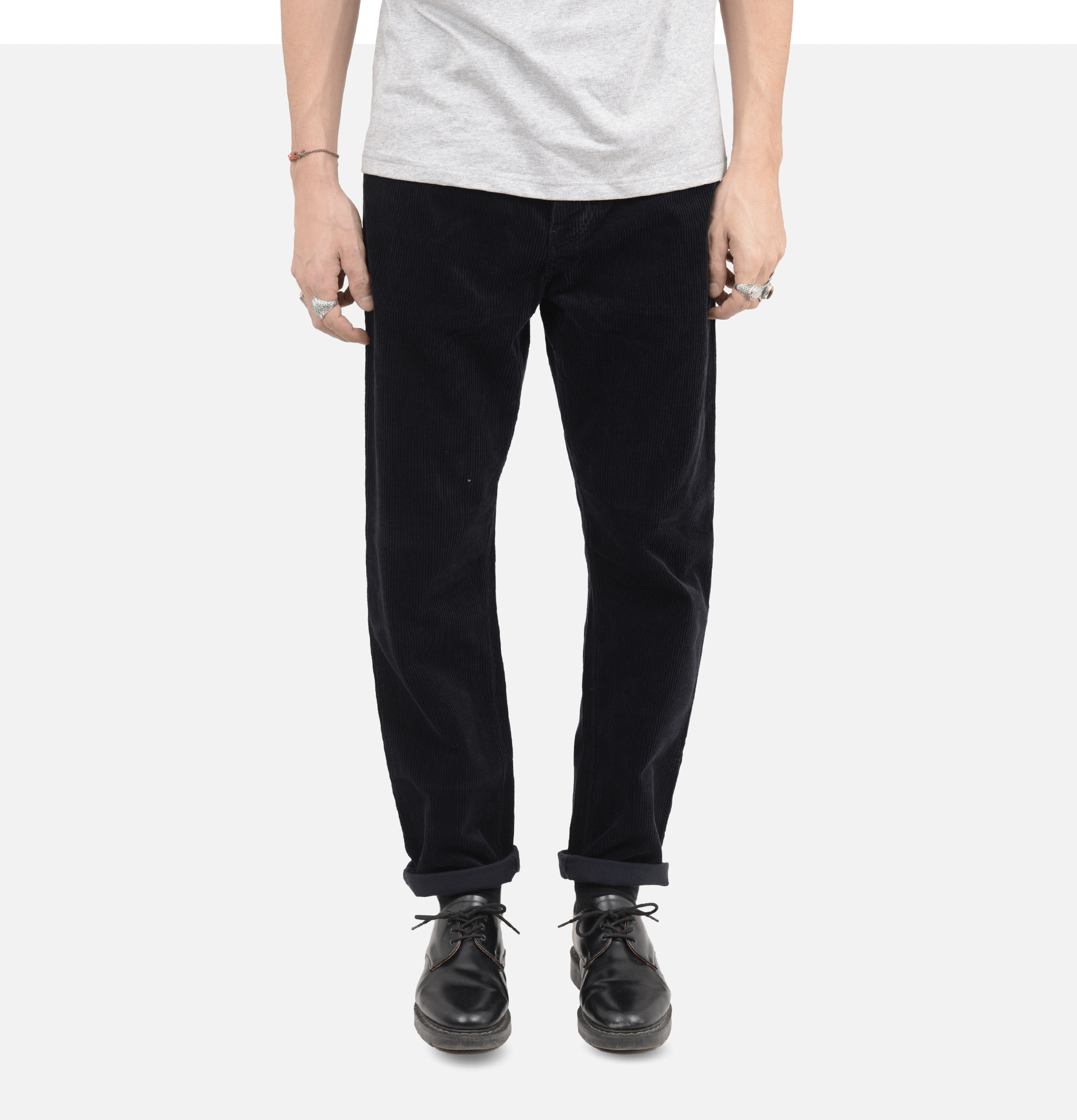 Pantalon Newel Cord Dark Navy