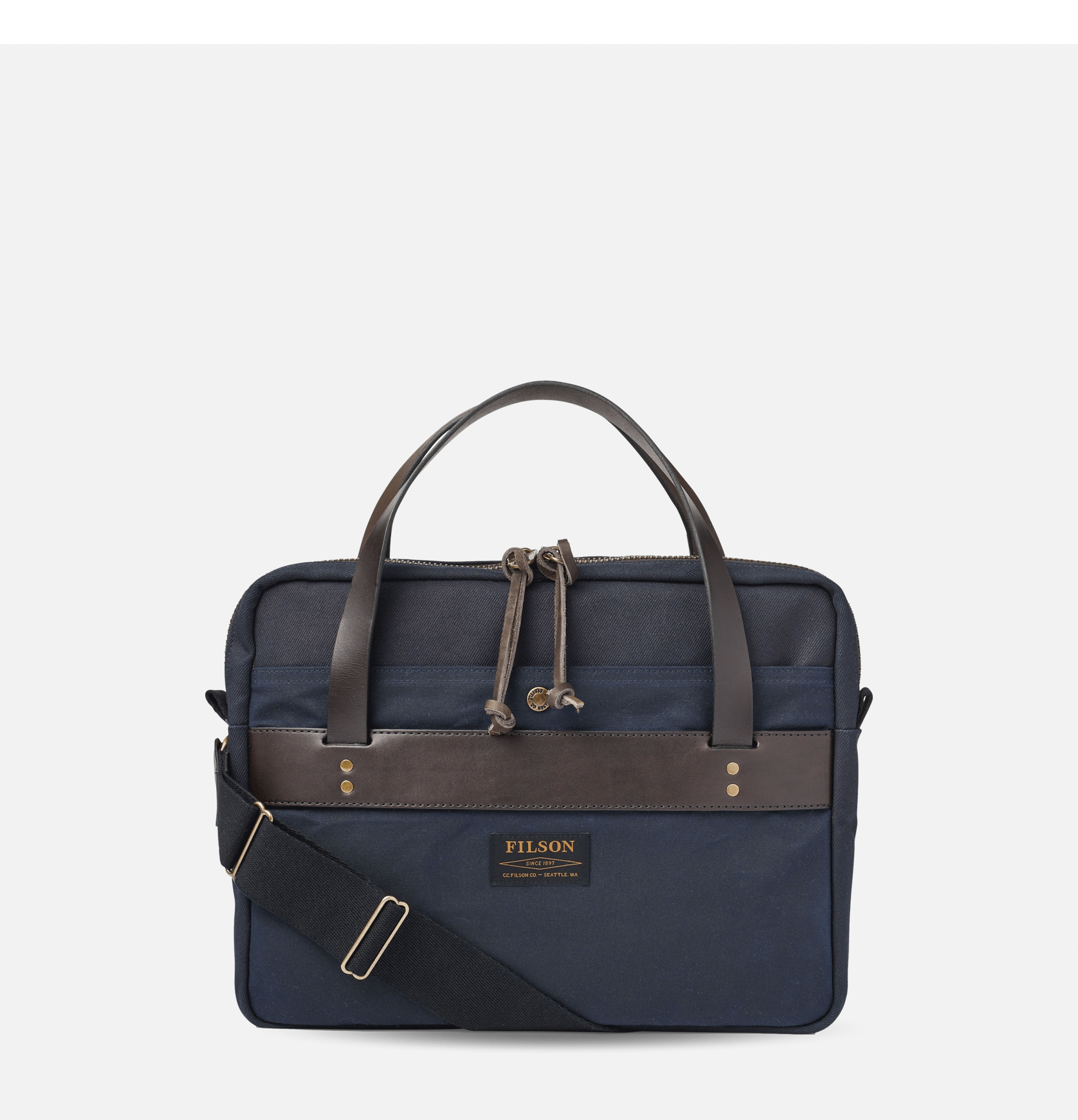 Rugged Compact Briefcase Navy