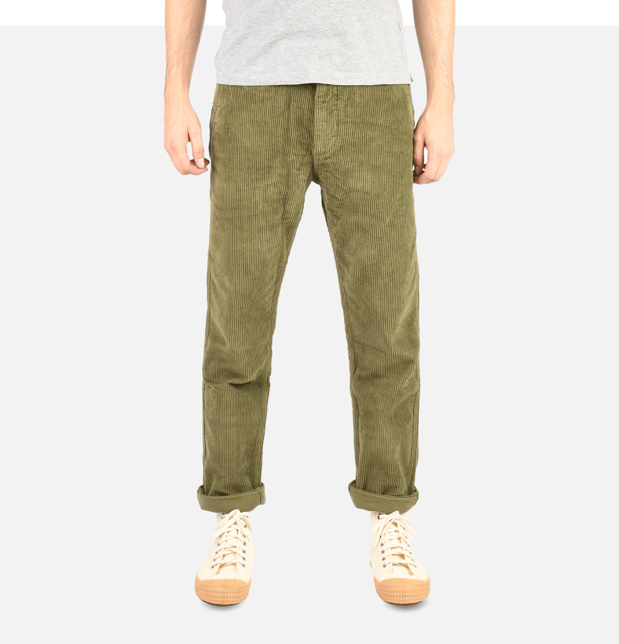 Cord Trousers Olive