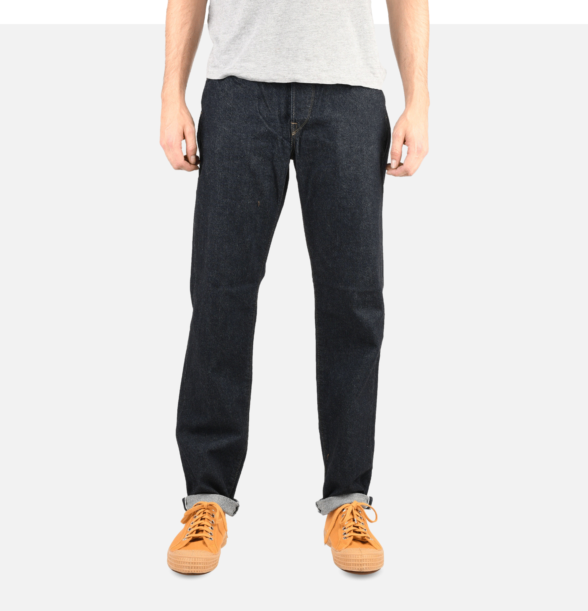 Loose Tapered Jeans Kaihara...