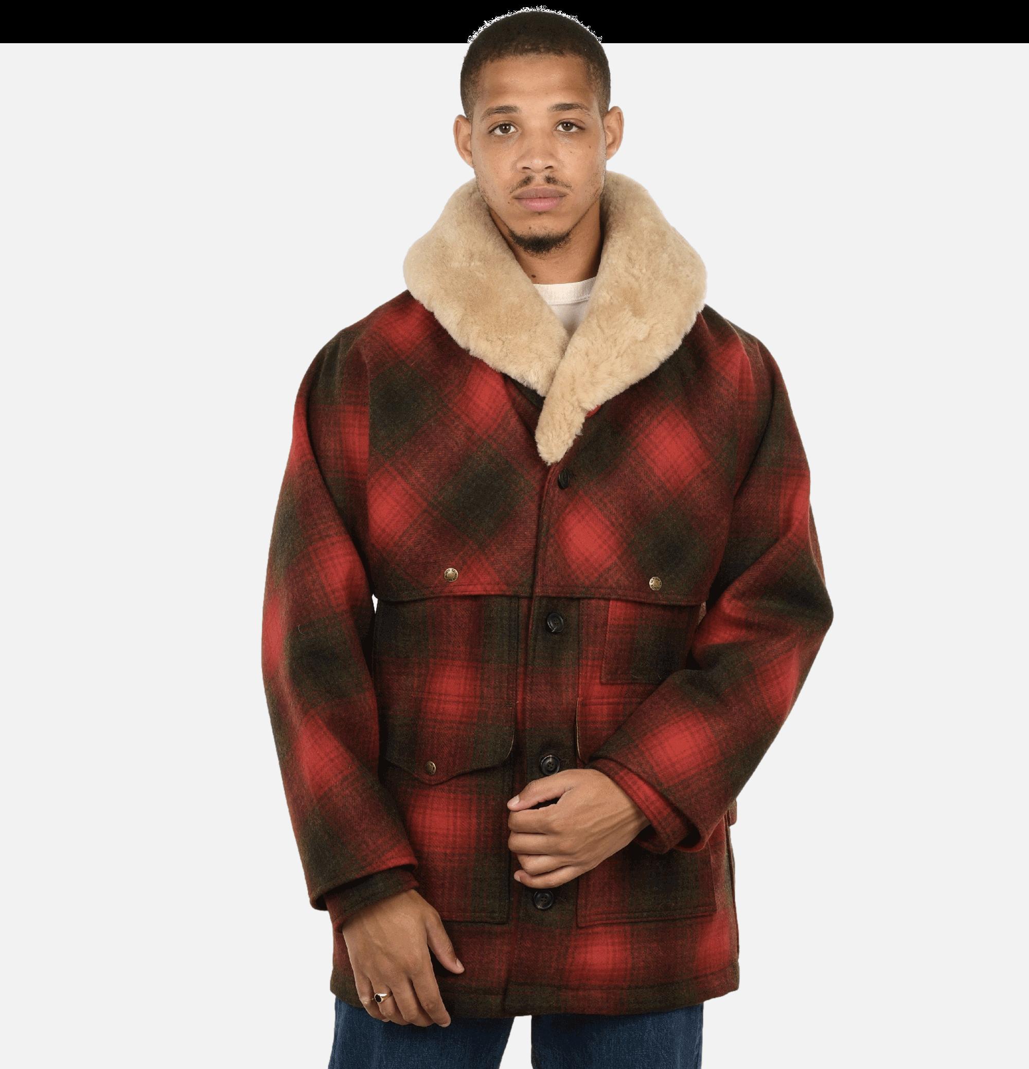 Woolpacker Coat Red Green