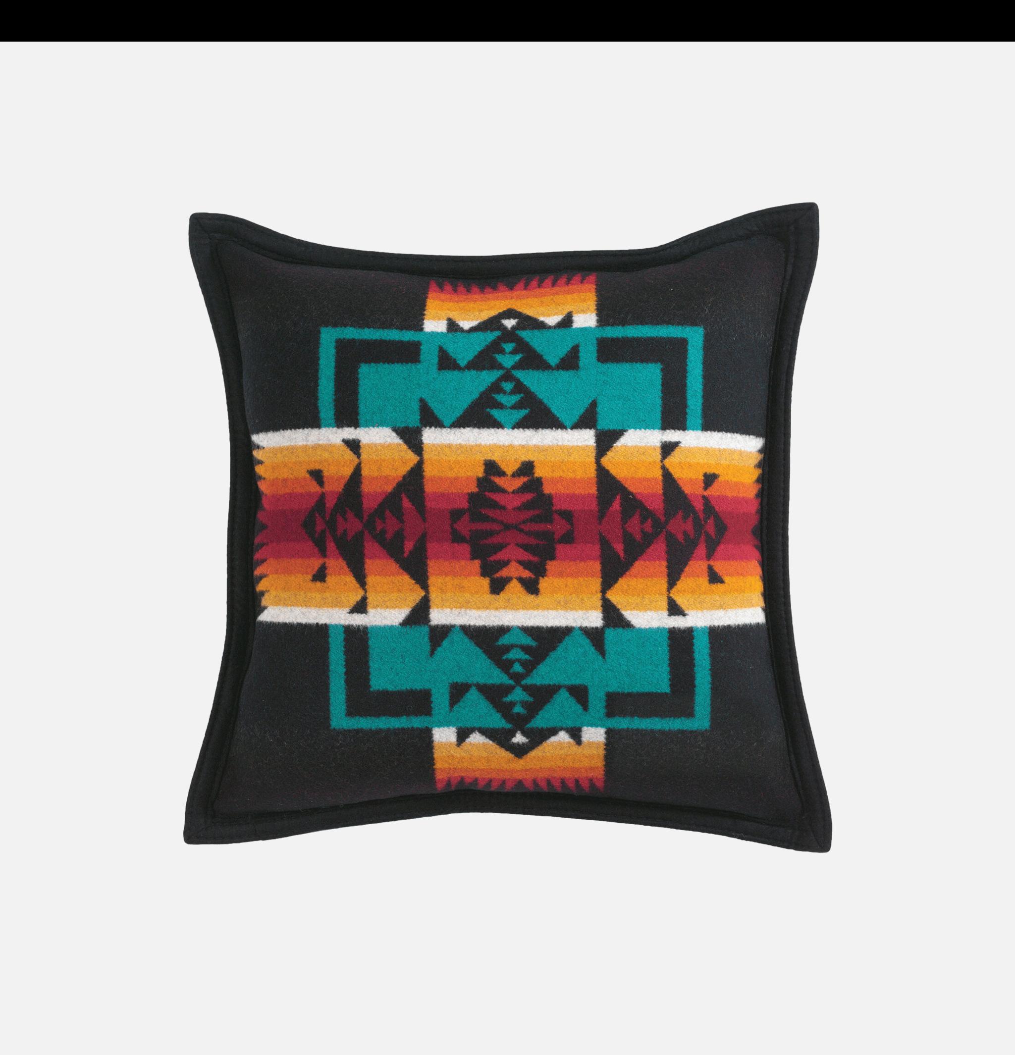 Chief Joseph Pillow Noir