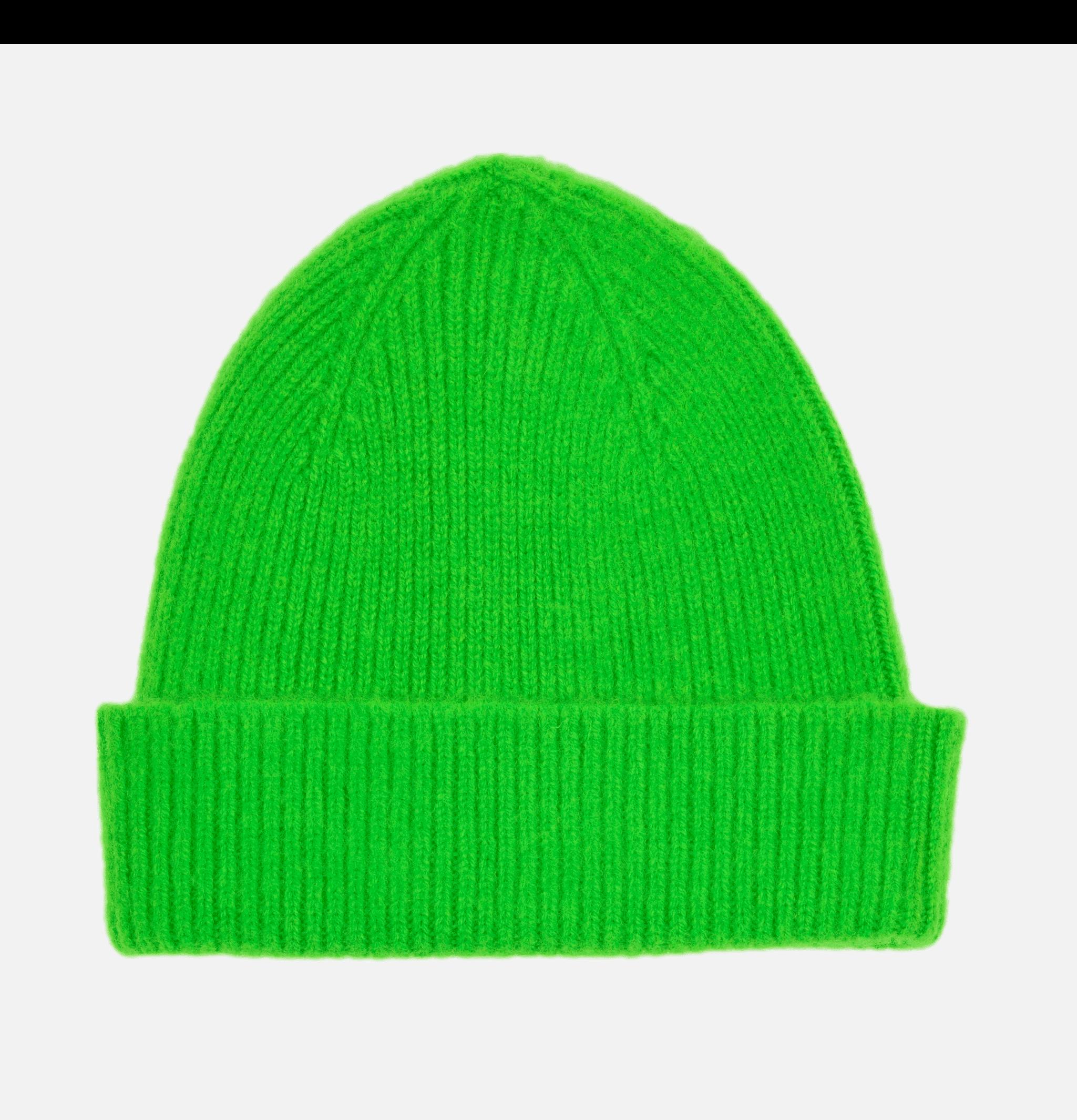 Barra Beanie Fluo Neon Green