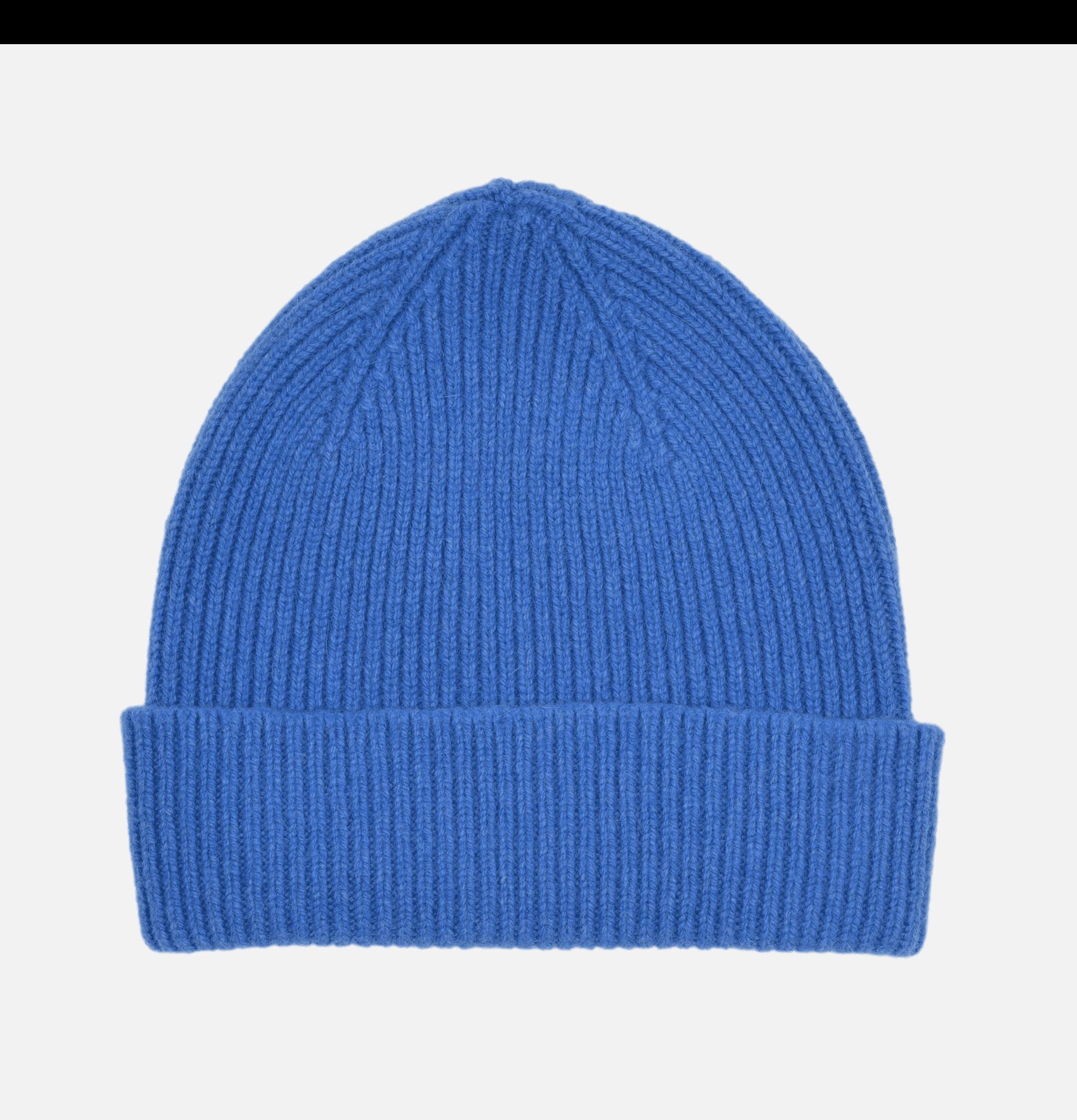 Ribbed Hat Turn Up Cadmium