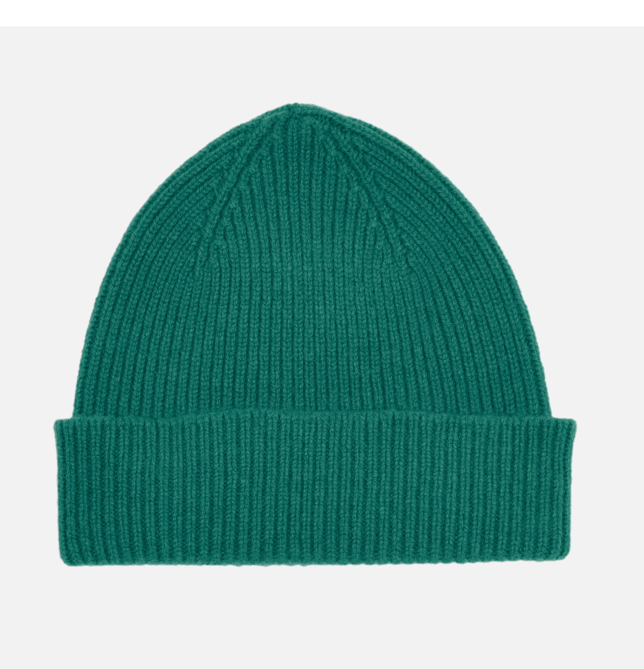 Ribbed Hat Turn Up Chive