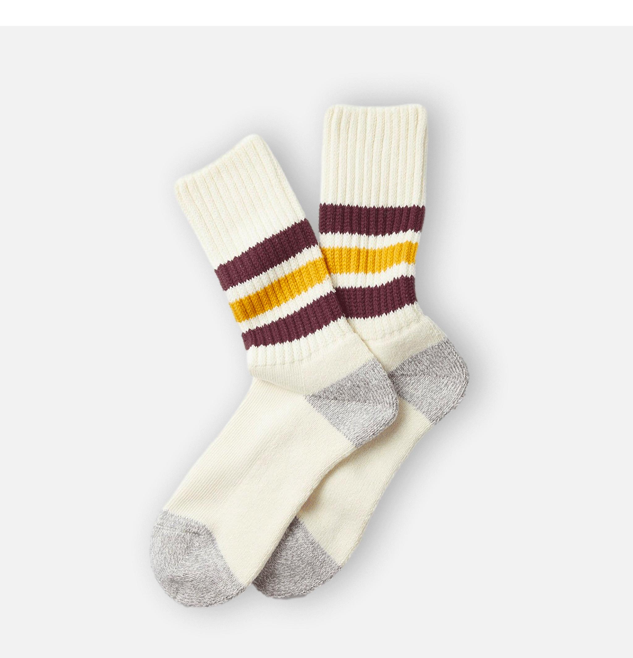 Coarse Socks Bordeaux