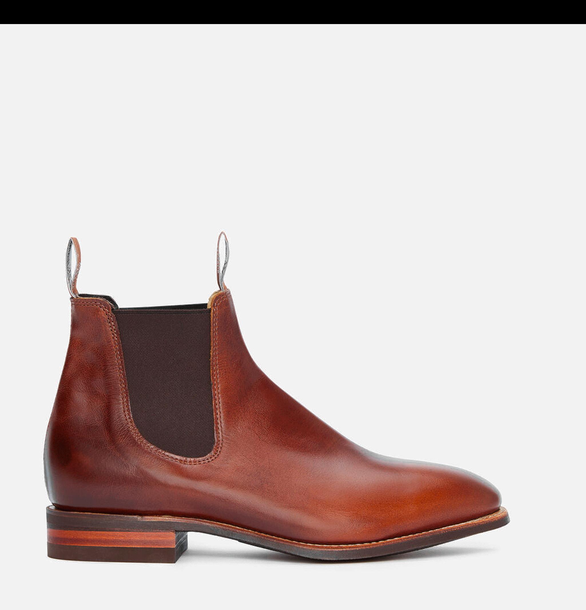 Comfort Craftsman Boots Tan