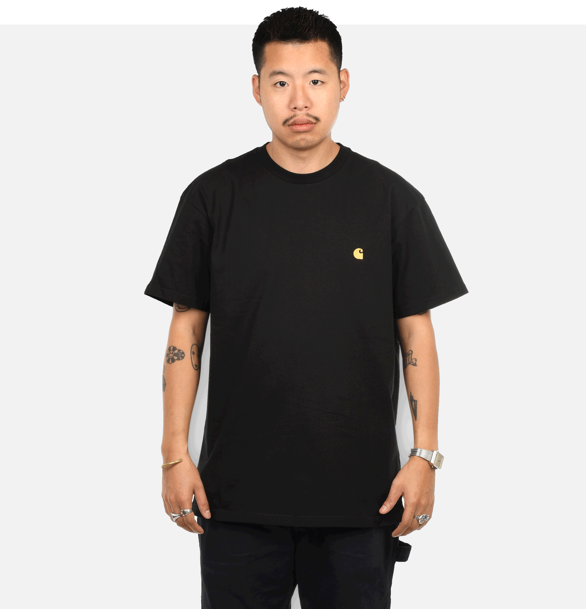 Chase T-shirt Black
