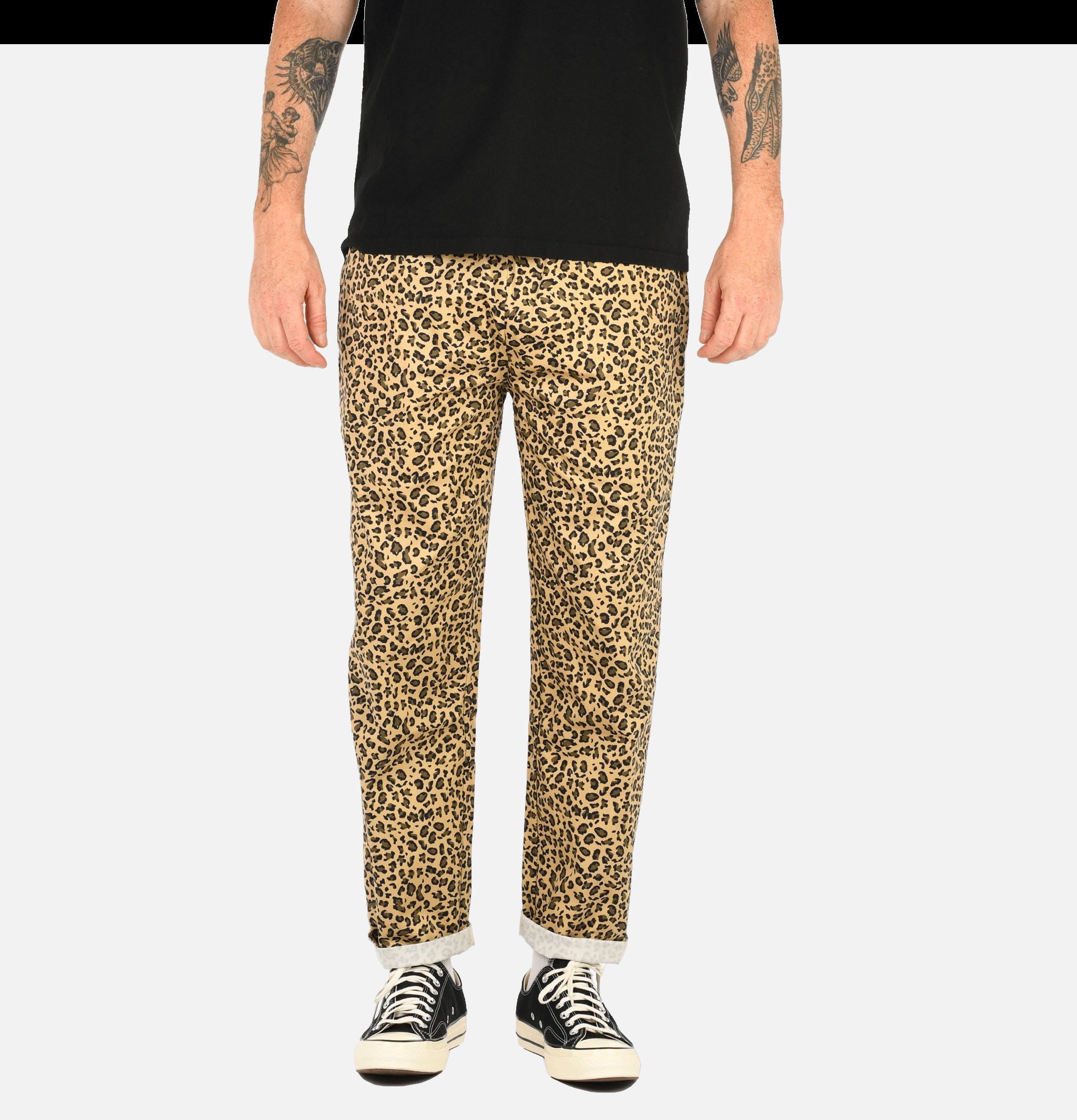 Chef Pant Leopard