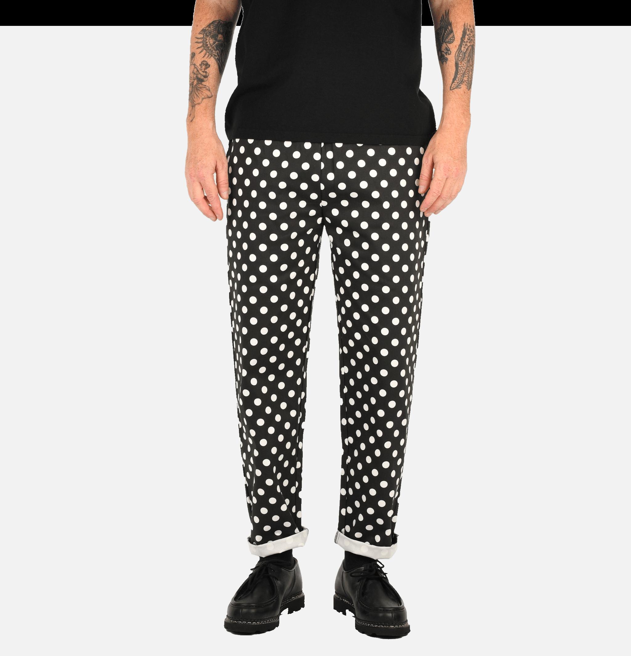 Chef Pants Dot Black